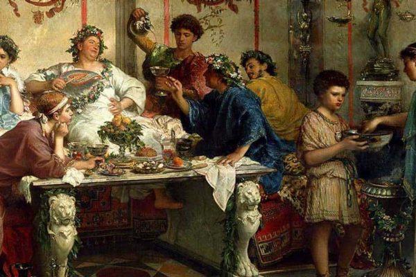Tema Rimska pojedina